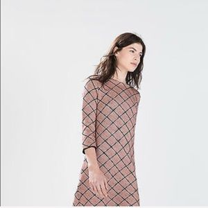 Zara Jacquard s Dress